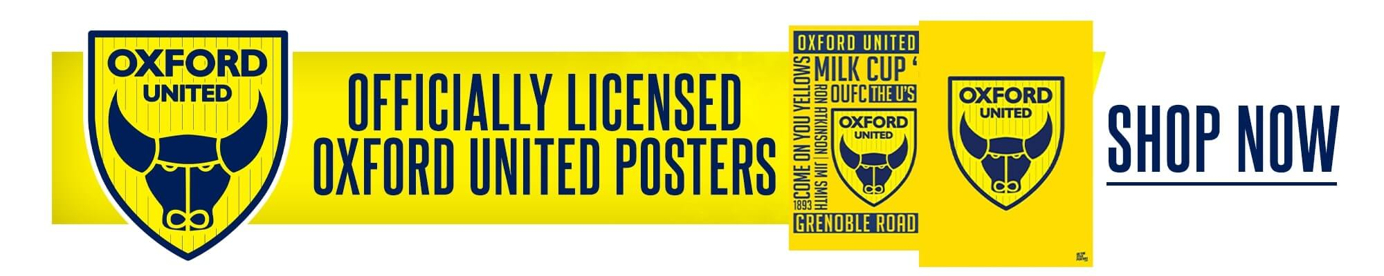 Official Oxford United Posters