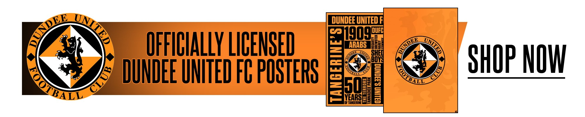 Official Dundee United Posters