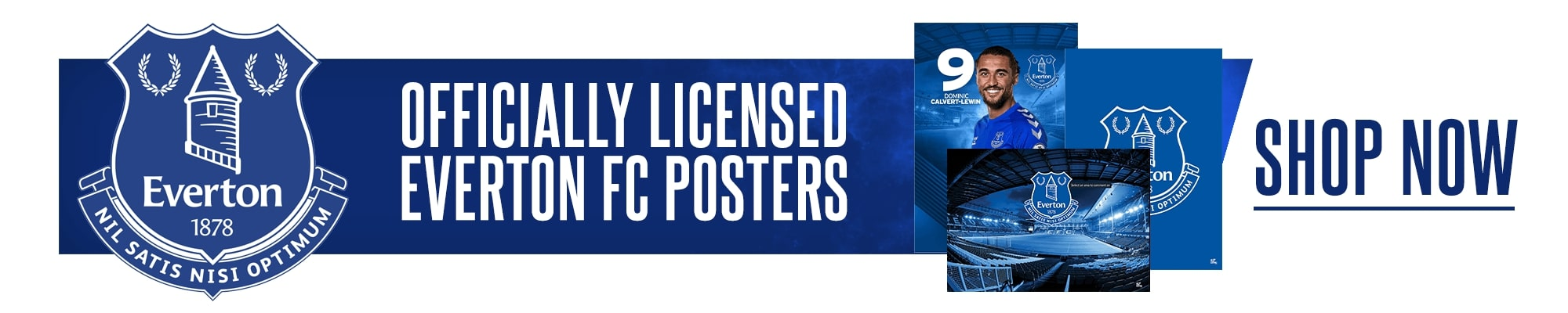 Official Everton Posters