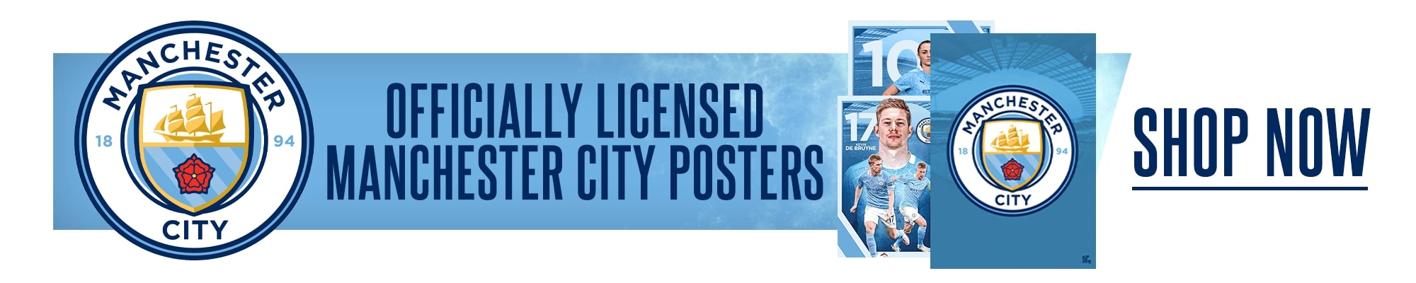 Official Manchester City Posters