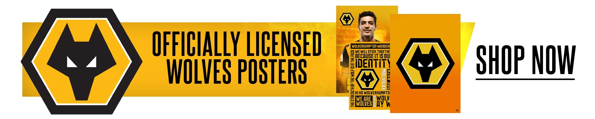 Official Wolverhampton Wanderers Posters