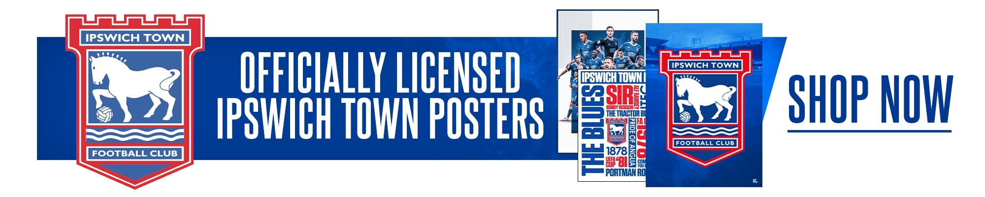 Official Ipswich Posters