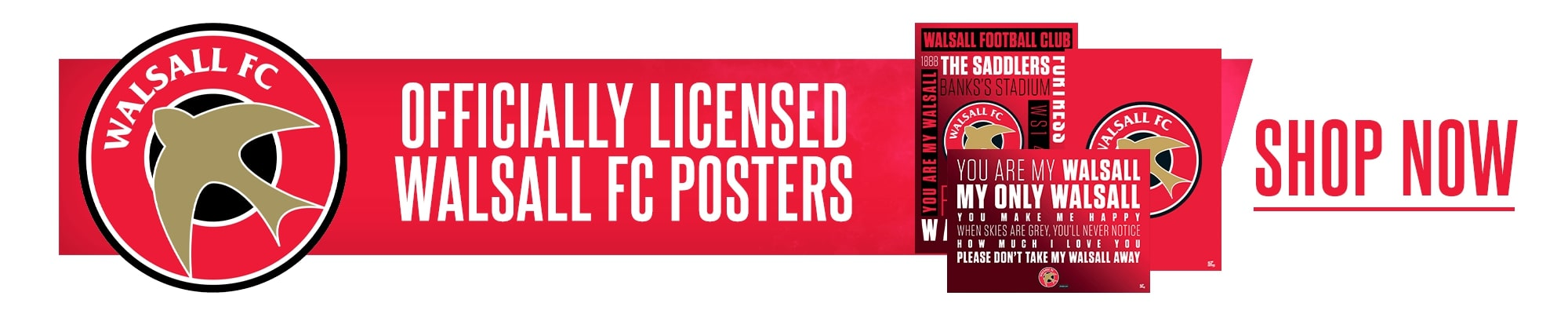 Official Walsall Posters