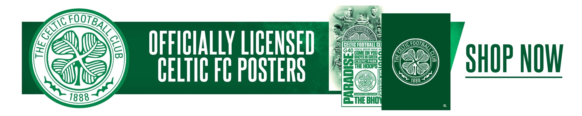 Official Celtic Posters