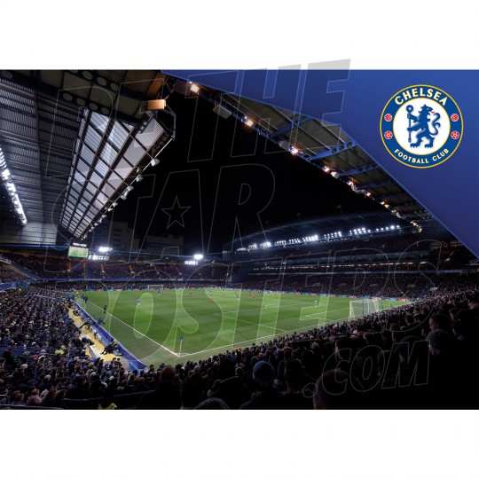 Chelsea Football Club A2 Stadium Poster