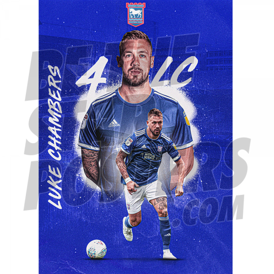 Chambers A3 Ipswich FC 19/20 Poster