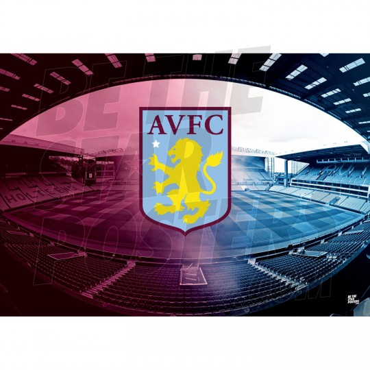 ASTON VILLA FC JACK GREALISH 19//20 ACTION POSTER OFFICIALLY LICENSED PRODUCT A2