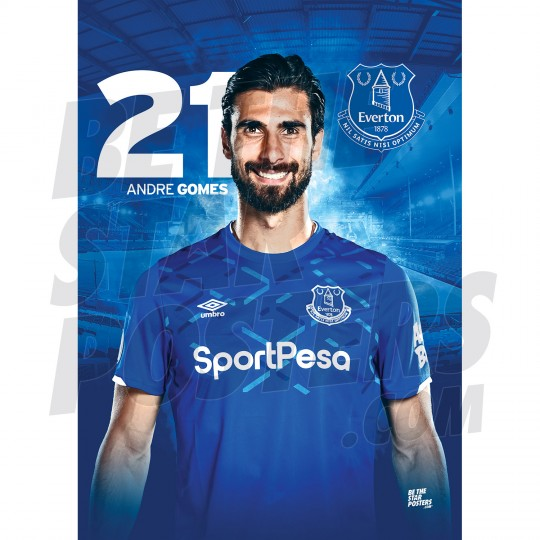 Everton Gomes A3 19/20 Poster