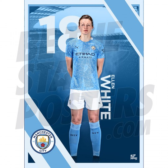 White Man City FC A3 Poster