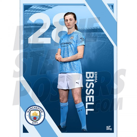 Bissell Man City FC A3 Poster