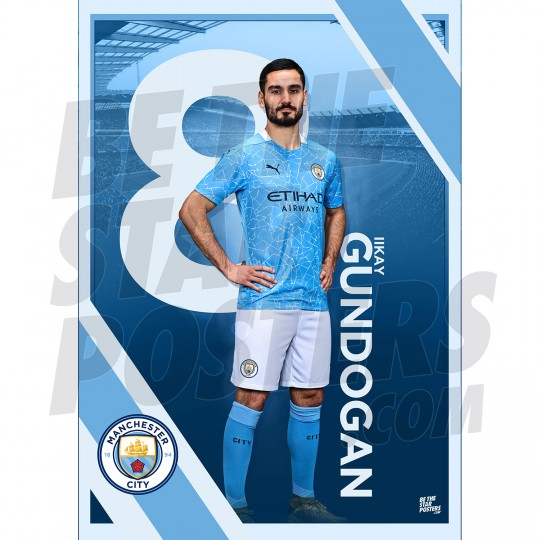 Gundogan Man City FC A3 Poster