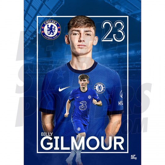 Billy Gilmour Chelsea FC 20/21 A3/A4