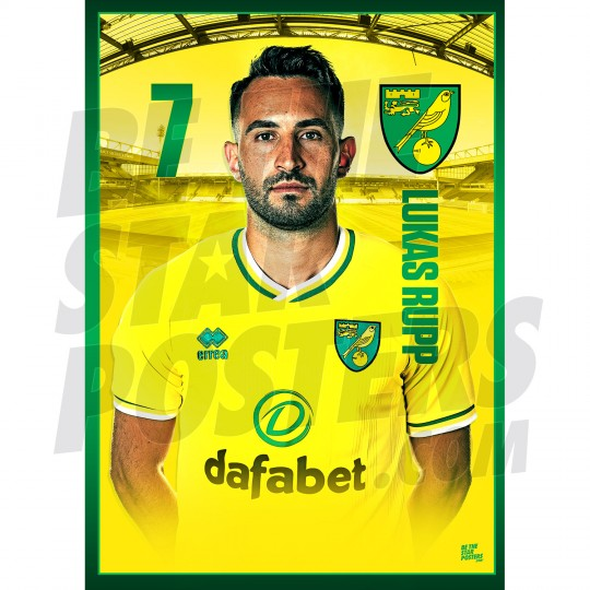 Lukas Rupp Norwich City 20/21 A3/A4