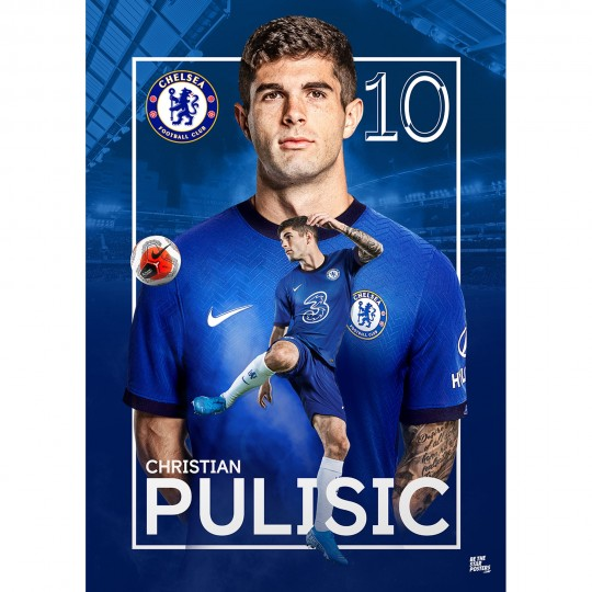 Christian Pulisic Chelsea FC 20/21 A3/A4