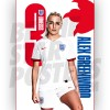 Lionesses Alex Greenwood A3 Poster