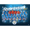Man City FC A3 Fourmidables Poster