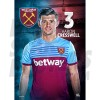 West Ham United FC Cresswell A3 Poster