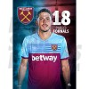 West Ham United FC Fornals A3 Poster