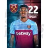 West Ham United FC Haller A3 Poster