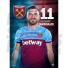 West Ham United FC Snodgrass A3 Poster