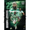 Celtic FC A1 Edouard 18/19 Player Poster