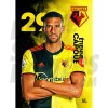 Capoue Watford A3 FC 19/20 Action Poster
