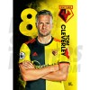 Cleverly Watford A3 FC 19/20 Action Poster