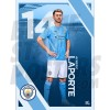Aymeric Laporte Man City FC Poster A3/A4