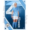 Bonner Man City FC A3 Poster