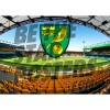 Norwich City FC A3 Stadium Poster