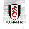 Fulham FC A3 Crest Poster