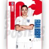 Lionesses Fran Kirby A3 Poster