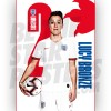 Lionesses Lucy Bronze A3 Poster