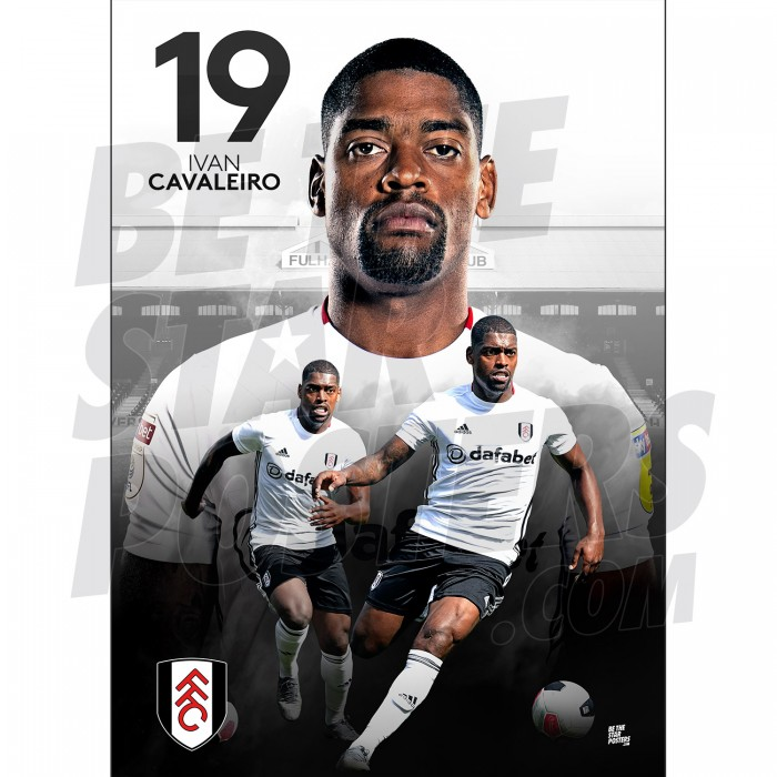 Cavaleiro Fulham A3 FC 19/20 Action Poster