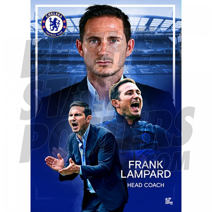Chelsea FC Frank Lampard A3 19/20