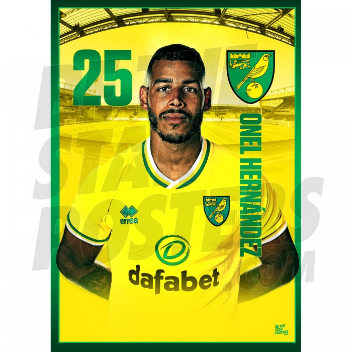 Onel Hernández Norwich City 20/21 A3/A4