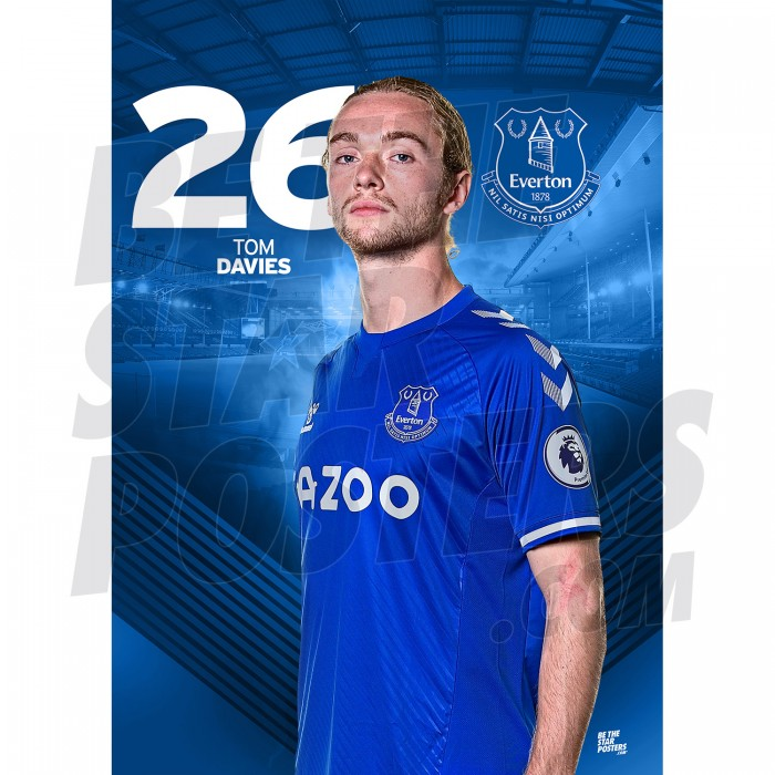 Tom Davies Everton FC A3 20/21