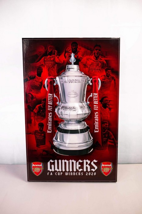 Arsenal FC FA Cup 2020 Winners Pop Out Poster