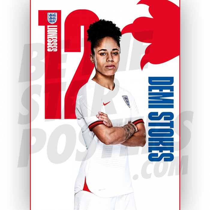 Lionesses Demi Stokes A3 Poster